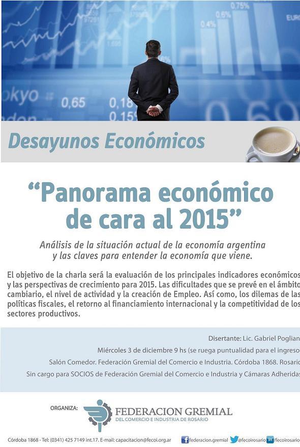 Desayuno económico diciembre